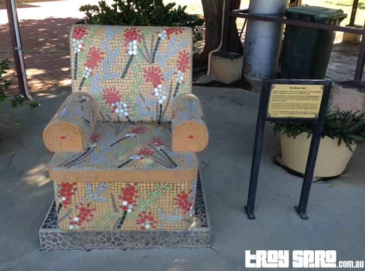 Mosaic Chair in Julia Creek