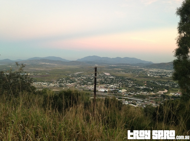 Castle Hill looking out back to Townsville