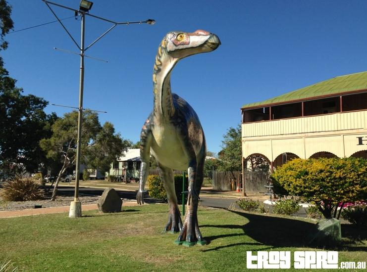 Dinosaurs in Hughenden