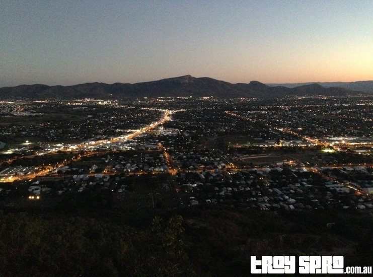 Townsville Sunset from Castle Hill Lookout