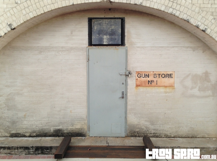 Gun Store at Kissing Point