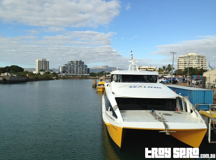 Sealink Ferry to Magnetic Island Townsville