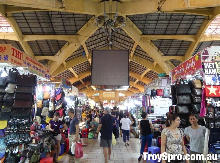 Bag Shops Ben Thanh Market Ho Chi Minh Vietnam