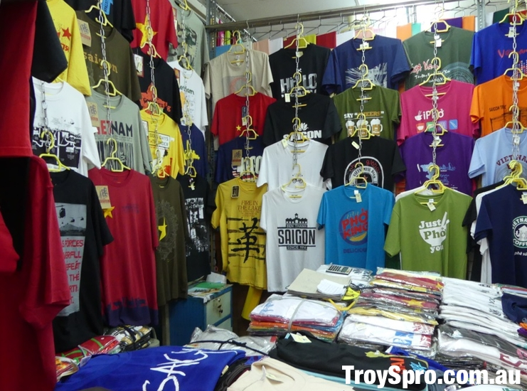 Ben Thanh Market T Shirt Shop