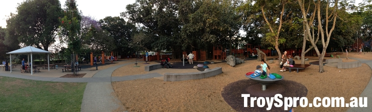 Kids Playground at New Farm Park in New Farm
