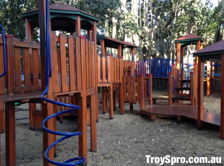 New Farm Park Kids Playground in Brisbane