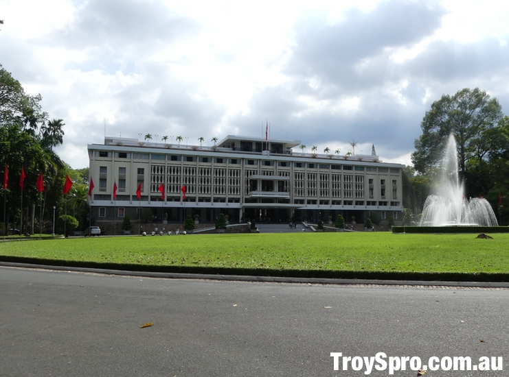 The Independence Palace Unification Palace Ho Chi Minh Saigon Vietnam