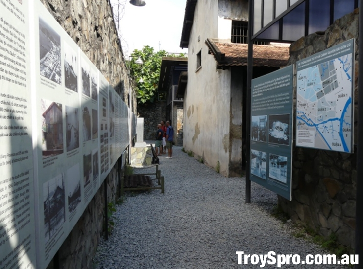 Prison System Display American War War Remnants Museum Ho Chi Minh Saigon Vietnam