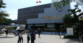 A visit to the War Remnants Museum in Ho Chi Minh