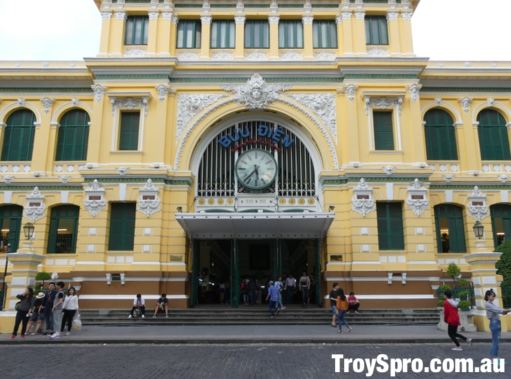 Saigon Post Office in Ho Chi Minh City Central