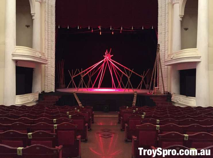 Inside the Saigon Opera House Municipal Theatre A O Show Ho Chi Minh City
