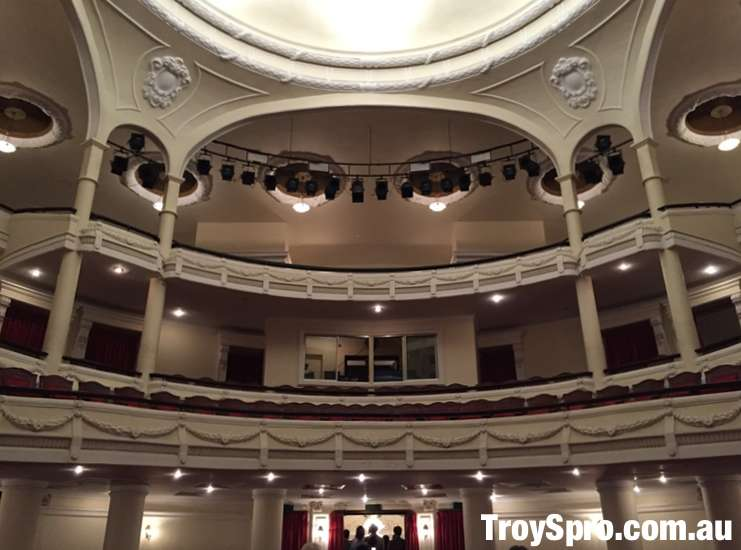 Upper Row Seating A O Show Saigon Opera House Municipal Theatre Ho Chi Minh City