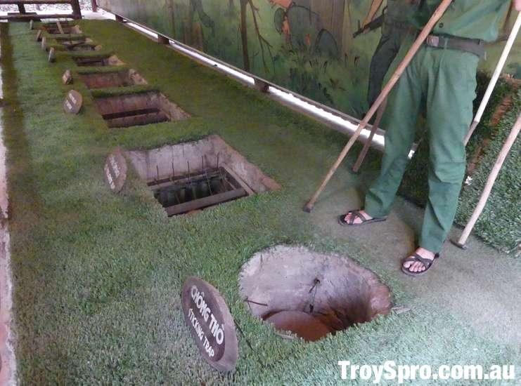 Cu Chi Tunnels Vietnam War Booby Traps