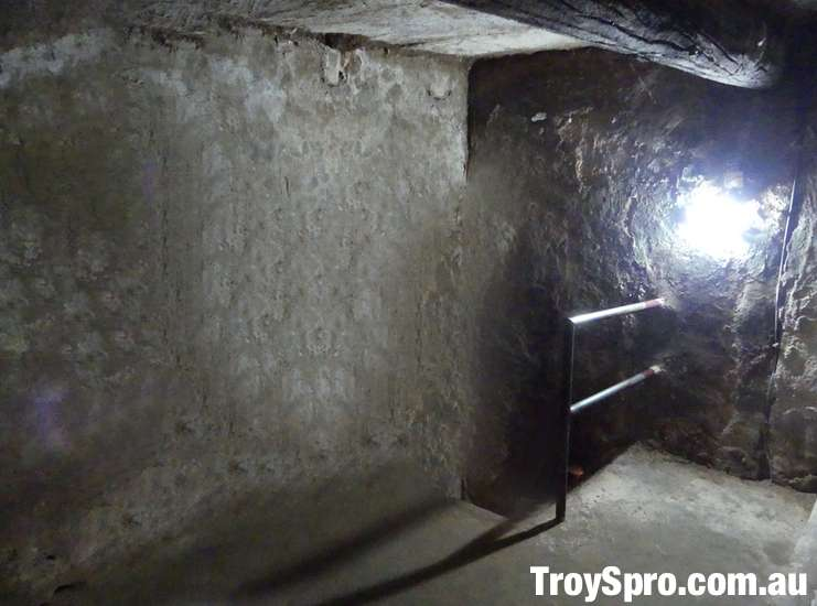 Underground in the Cu Chi Tunnels Vietnam