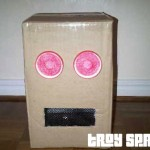 How to make a Boxhead (LMFAO) or Robot Head for Crazy Hat Day