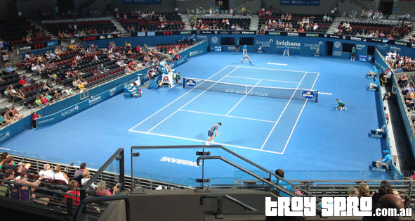 Brisbane Tennis Groth vs Herbert