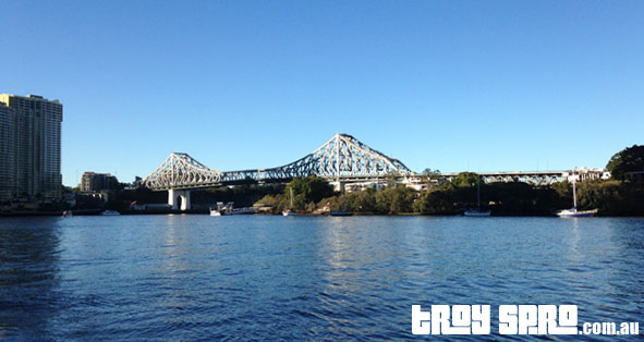 Leaving the Story Bridge Behind