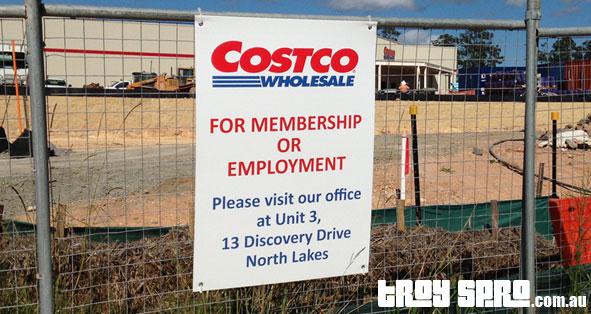 Costco Brisbane Construction