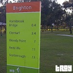 Take a stroll down the Brighton waterfront along Flinders Parade
