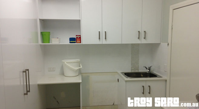 Laundry Renovations, renovation finished and completed on time