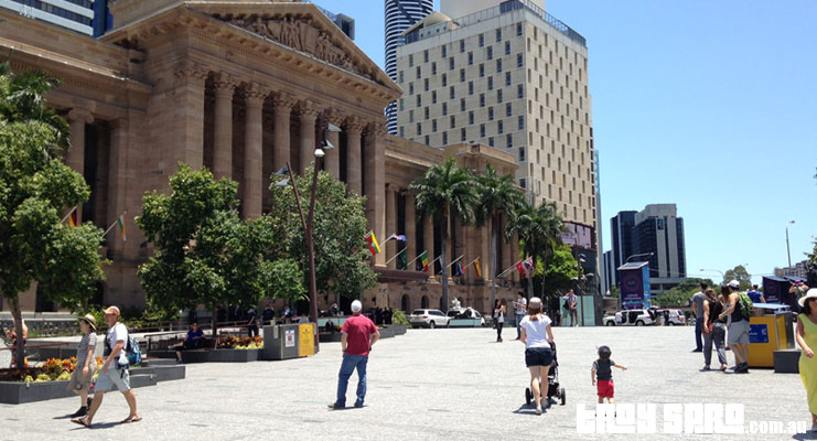 G20 King George Square Brisbane City