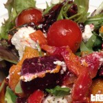 Vegetarian Mediterranean Salad and Feta, Beetroot and Pumpkin Salad at G20
