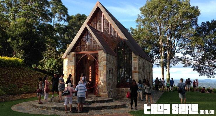 The Chapel for Weddings in Montville Front View