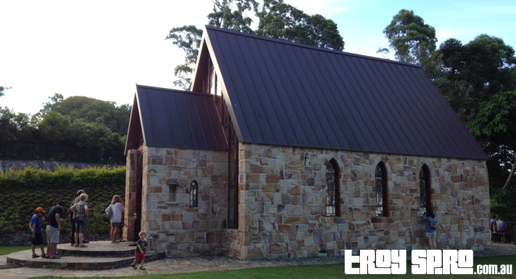 The Chapel for Weddings in Montville Side View