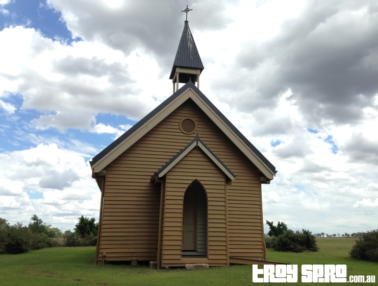 The Jimbour Chapel at Jimbour House