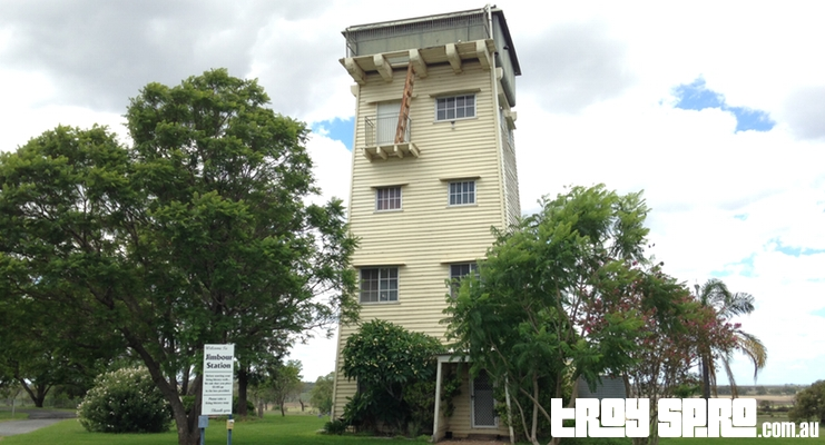 The Water Tower at Jimbour House