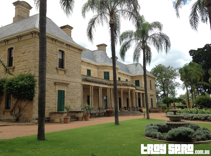 Jimbour House Front of House