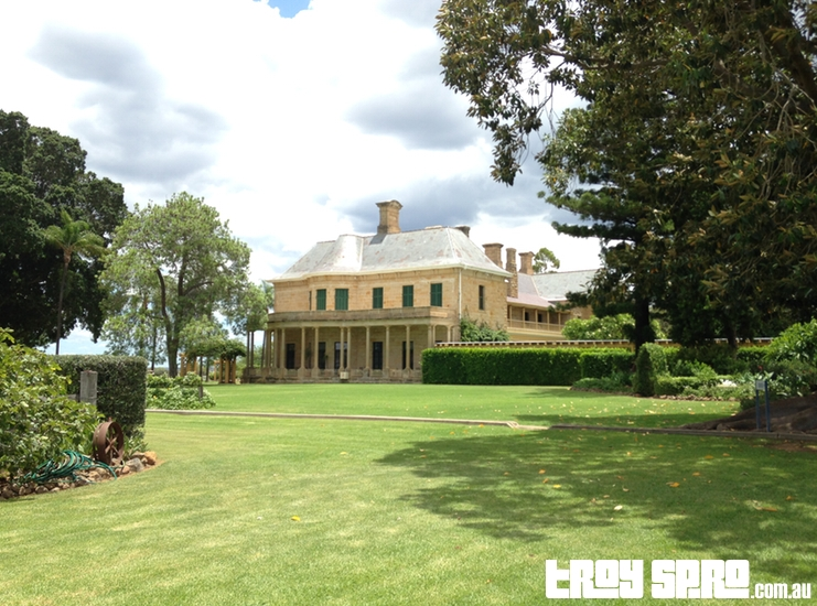 Jimbour House Garden Rear View