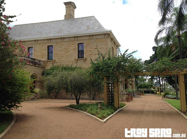 Jimbour House Main Gate
