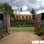 Jimbour House View from Millicent Russel Kitchen Garden