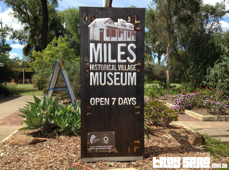 Miles Historical Village Museum in Miles