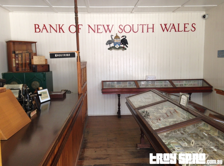 Bank of New South Wales at the Miles Historical Museum