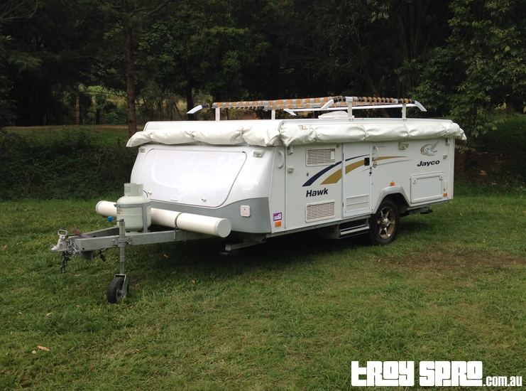 Jayco Hawk Camper Trailer for Camping