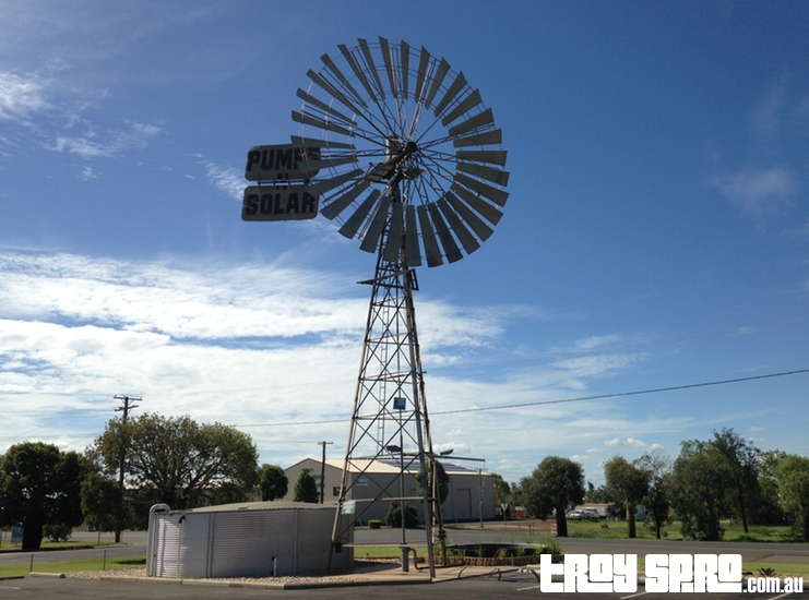 Southern Cross Windmill Roma Queensland