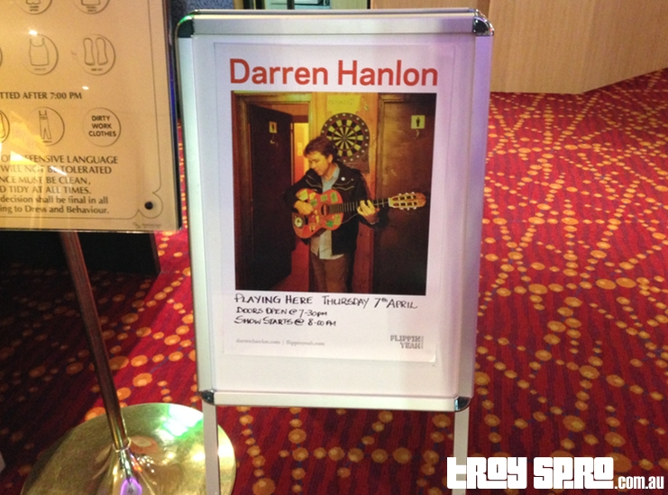 Darren Hanlon Playing Here