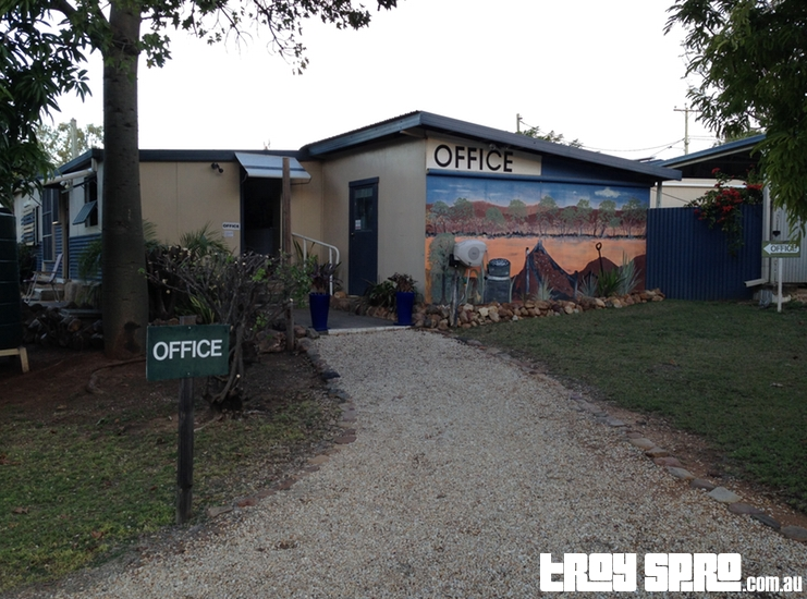 Caravan Park Office at Rubyvale Caravan Park