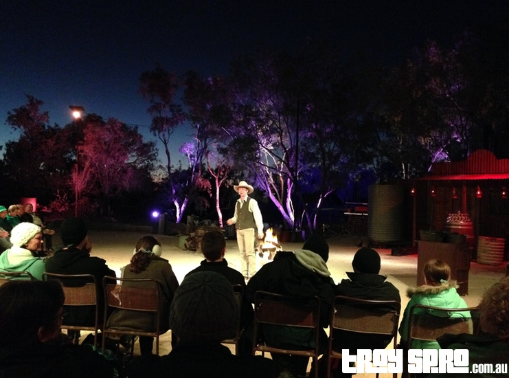 Kinnon and Co Starlights Spectacular Show and Meal and Cruise Longreach