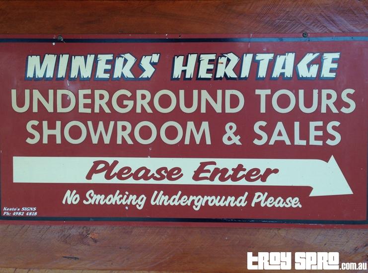 Miners Heritage Underground Mining Mine Tour Rubyvale The Gemfields