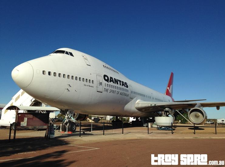 Qantas Founders Museum Qantas Boeing 747 Longreach Queensland