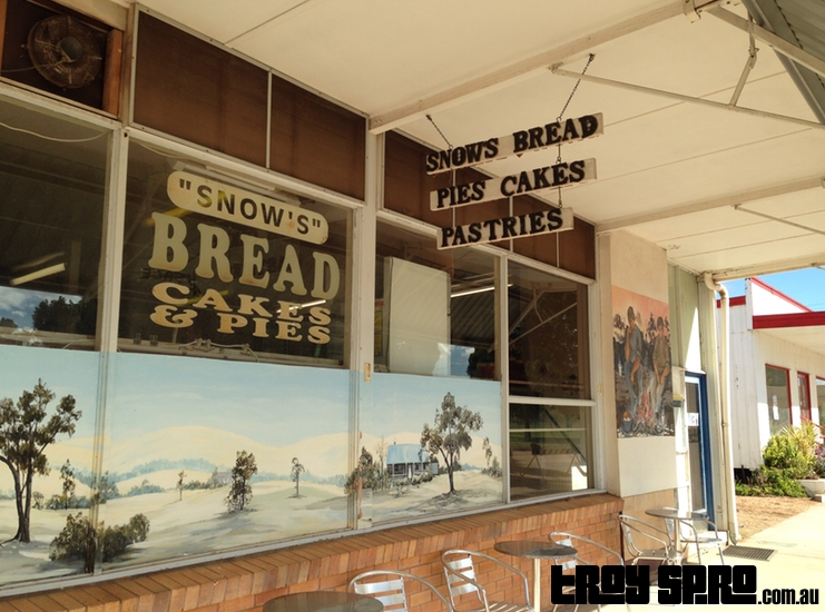 Snows Bakery in Alpha Queensland