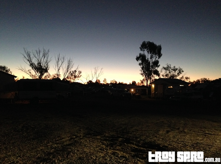 Sunset Longreach Queensland Australia