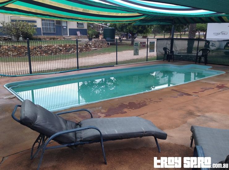 Swimming Pool at Rubyvale Caravan Park Queensland
