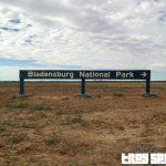 Bladensberg National Park Queensland Entry Sign