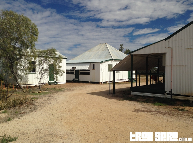 Surrounding Buildings at Bladensberg Homestead in Bladensberg National Park Winton Queensland