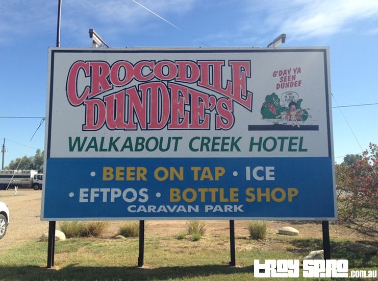 Walkabout Creek Hotel McKinlay Crocodile Dundee