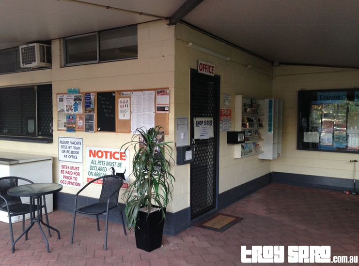 Mount Isa Caravan Park Main Office